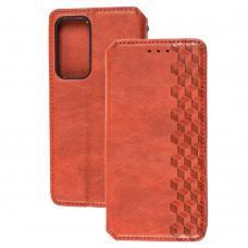 Чехол книжка для Huawei P40 Getman Cubic красный