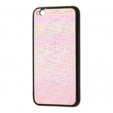 Чехол для Xiaomi Redmi Go Gradient розовый