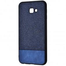 Чехол для Samsung Galaxy J4+ 2018 (J415) Hard Textile синий