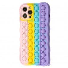 Чехол для iPhone 12 Pro Max Pop it colors антистресс дизайн 2