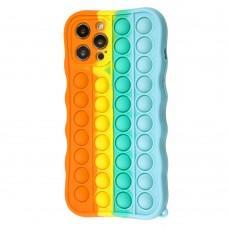 Чехол для iPhone 12 Pro Max Pop it colors антистресс дизайн 3