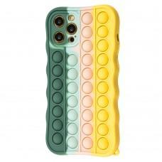 Чехол для iPhone 12 Pro Max Pop it colors антистресс дизайн 7