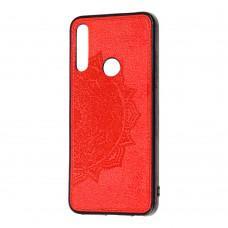 Чехол для Huawei P Smart Z Mandala 3D красный
