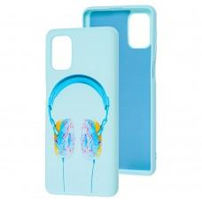 Чехол для Samsung Galaxy M31s (M317) Art case голубой