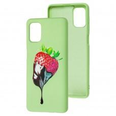 Чехол для Samsung Galaxy M31s (M317) Art case зеленый