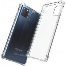 Чехол для Samsung Galaxy Note 10 Lite / A81 WXD ударопрочный прозрачный