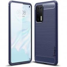 Чехол для Huawei P40 iPaky Slim синий