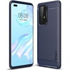 Чехол для Huawei P40 Pro iPaky Slim синий