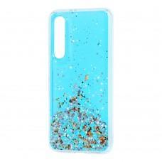 Чехол для Xiaomi Mi 9 SE Wave конфети голубой