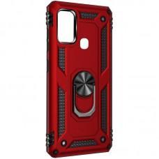 Чехол для Samsung Galaxy M21 / M30s Serge Ring ударопрочный красный