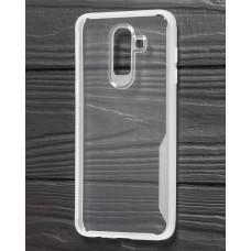 Чехол для Samsung Galaxy J8 (J810) Simple белый