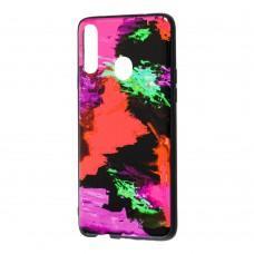 Чехол для Samsung Galaxy A20s (A207) Picasso красный