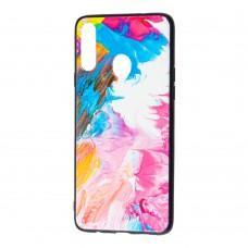 Чехол для Samsung Galaxy A20s (A207) Picasso розовый