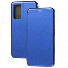 Чехол книжка Premium для Xiaomi Mi 10T / Mi 10T Pro синий