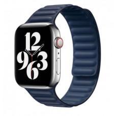 Ремешок для Apple Watch 38/40mm Leather Link midnight blue
