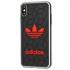 Чехол для iPhone Xs Max Sneakers Adidas черный