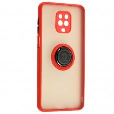 Чехол для Xiaomi Redmi Note 9s / 9 Pro LikGus Edging Ring красный