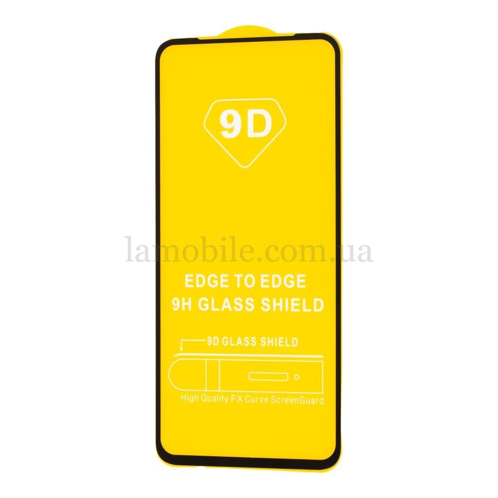 Защитное стекло для Xiaomi Redmi Note 9 Full Glue черное (OEM)