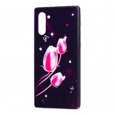 Чехол для Samsung Galaxy Note 10 (N970) Fantasy тюльпаны