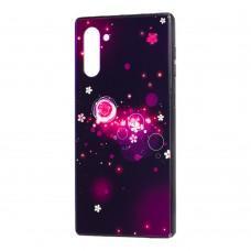 Чехол для Samsung Galaxy Note 10 (N970) Fantasy пузырьки и цветы
