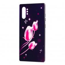 Чехол для Samsung Galaxy Note 10+ (N975) Fantasy тюльпаны