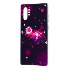 Чехол для Samsung Galaxy Note 10+ (N975) Fantasy пузырьки и цветы