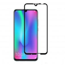 Защитное стекло для Huawei P Smart 2019 Full Glue черное