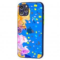 Чехол для iPhone 11 Pro Watercolor glass дизайн 3