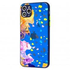 Чехол для iPhone 11 Pro Max Watercolor glass дизайн 3