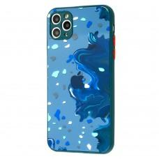 Чехол для iPhone 11 Pro Max Watercolor glass дизайн 4