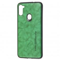 Чехол для Samsung Galaxy A11 / M11 X-leael зеленый