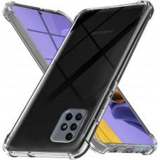Чехол для Samsung Galaxy M51 (M515) WXD ударопрочный прозрачный