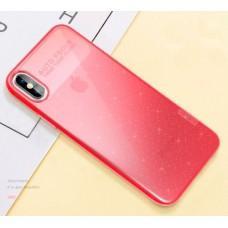 Чехол для iPhone Xs Max X-Level Rainbow розовый