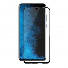 Защитное стекло 6D для Huawei P Smart 2019 черное (OEM)