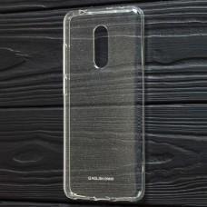 Чехол для Xiaomi Redmi 5 Molan Cano глянец прозрачный