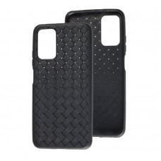 Чехол для Xiaomi Poco M3 Weaving черный