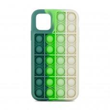 Чехол для iPhone 11 Pop it colors антистресс дизайн 3
