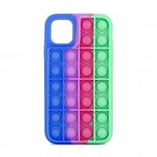 Чехол для iPhone 11 Pop it colors антистресс дизайн 7