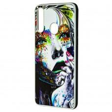 Чехол для Samsung Galaxy A20s (A207) Fashion mix девочка