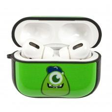 Чехол для AirPods Pro Young Style Monsters зеленый