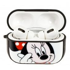 Чехол для AirPods Pro Young Style Mickey белый