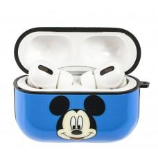 Чехол для AirPods Pro Young Style Mickey Mouse синий