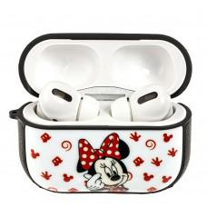 Чехол для AirPods Pro Young Style Minnie Mouse smile