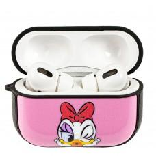 Чехол для AirPods Pro Young Style Daisy Duck розовый
