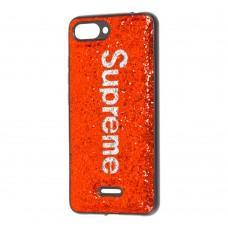 Чехол для Xiaomi Redmi 6A Supreme Glitter красный