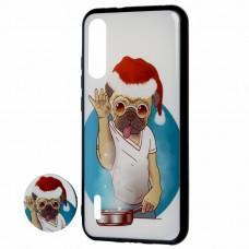"Чехол для Xiaomi Mi A3 / Mi CC9e print + pops ""пес"""