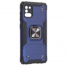 Чехол для Samsung Galaxy A31 (A315) Hard Defence синий