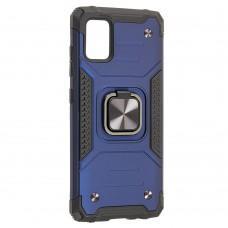 Чехол для Samsung Galaxy A51 (A515) Hard Defence синий