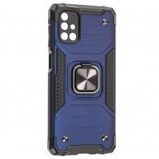 Чехол для Samsung Galaxy M51 (M515) Hard Defence синий