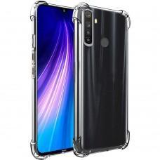 Чехол для Samsung Galaxy A21 (A215) WXD ударопрочный прозрачный